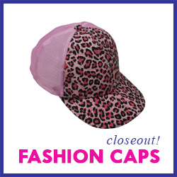 Closeout Fashion Caps