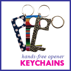 Hands-Free Touchless Door Opener Keychains
